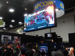 Capcomat Comic Con 2011