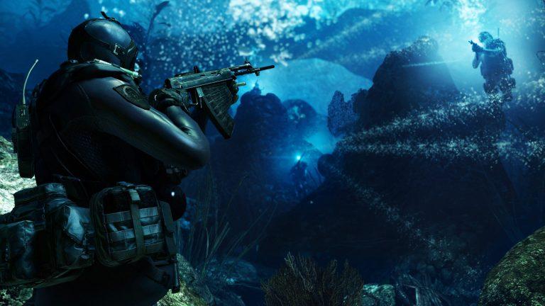 Call of Duty Ghosts Deep into Seas