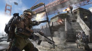 Advanced Warfare Multiplayer Gameplay
