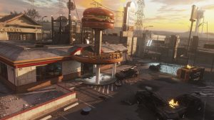 Advanced Warfare Burger Town