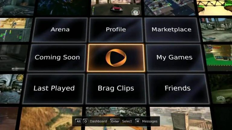 OnLive Interface