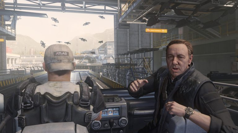 Advanced Warfare with Kevin Spacey