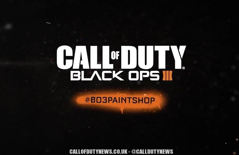 Black Ops 3 Paintshop