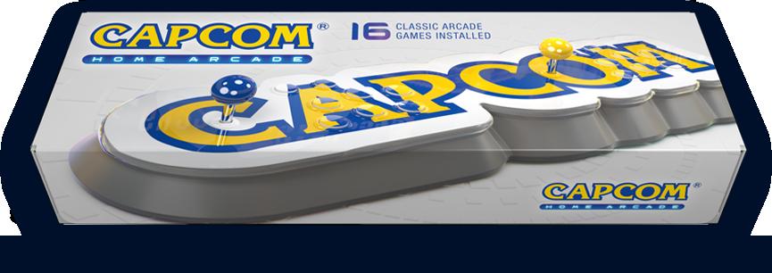 Capcom Home Arcade Packaging