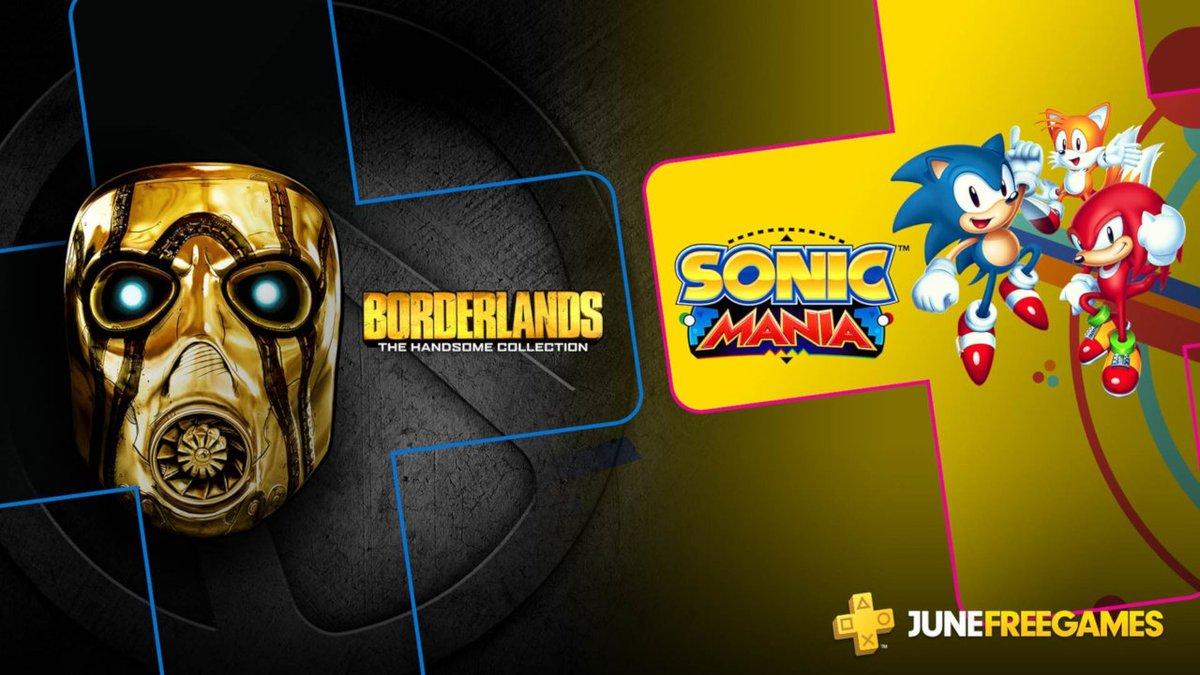 June 2019 Free PS Plus Games
