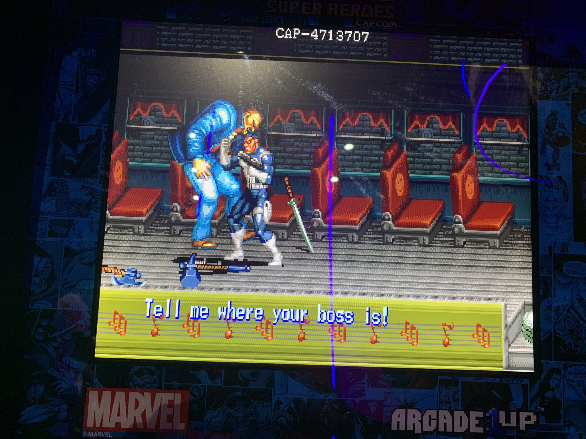 Marvel Arcade1up
