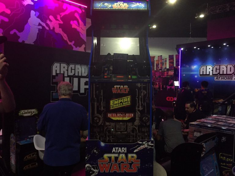 Star Wars Arcade1up Reveal