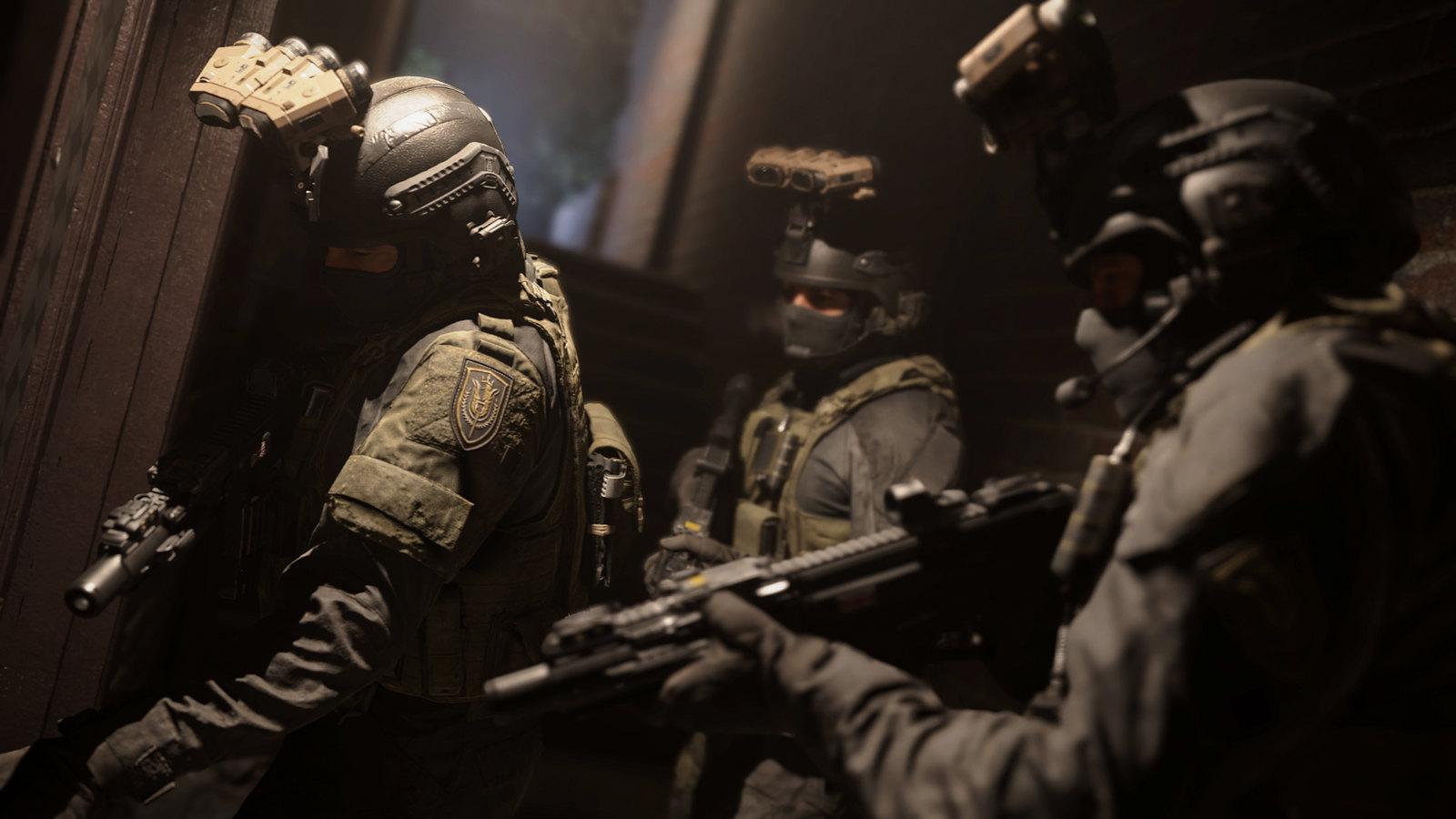 Call of Duty Modern Warfare Soldiers