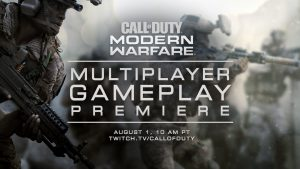 Modern Warfare Multiplayer Gameplay Premiere