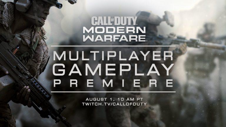 Modern Warfare Multiplayer Gameplay Premiere