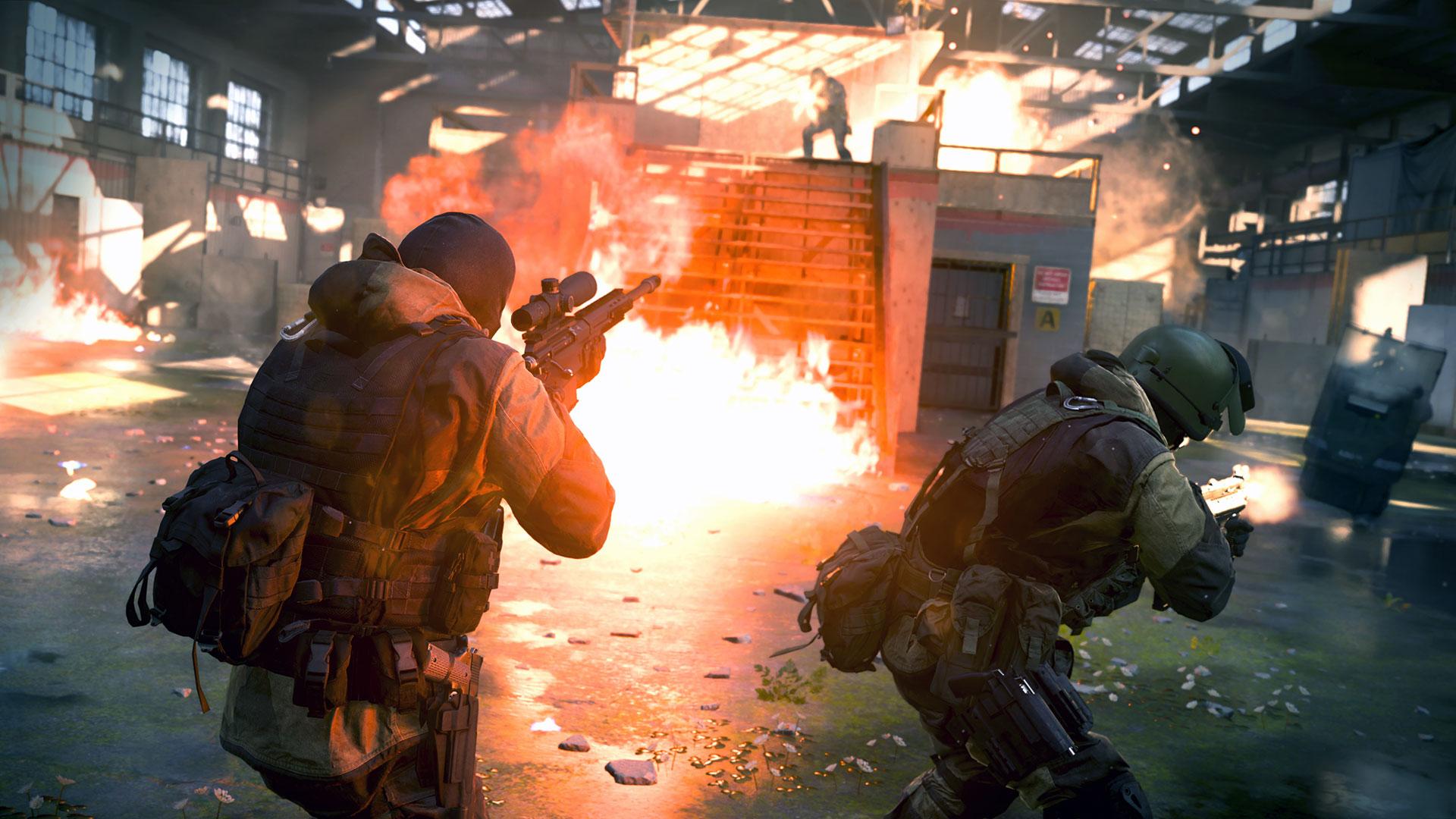 COD Modern Warfare Explosions
