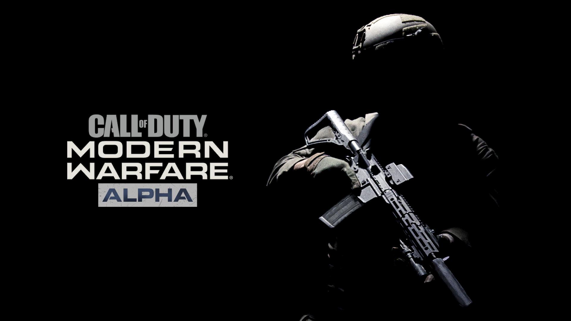COD Modern Warfare Open Alpha 2v2