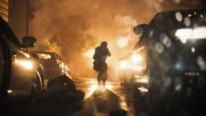 Call of Duty Modern Warfare Explosion