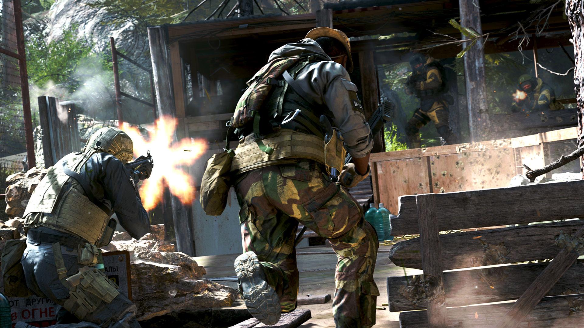 Call of Duty Modern Warfare Movement