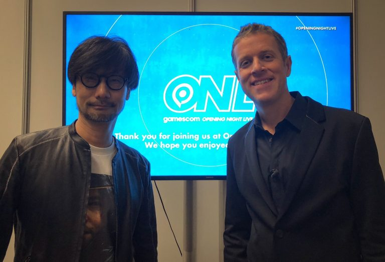 Hideo Kojima At Gamescom2019