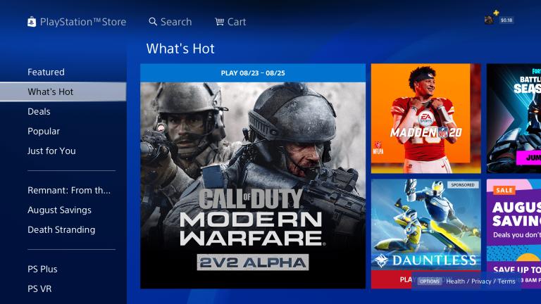 Modern Warfare Reboot Alpha