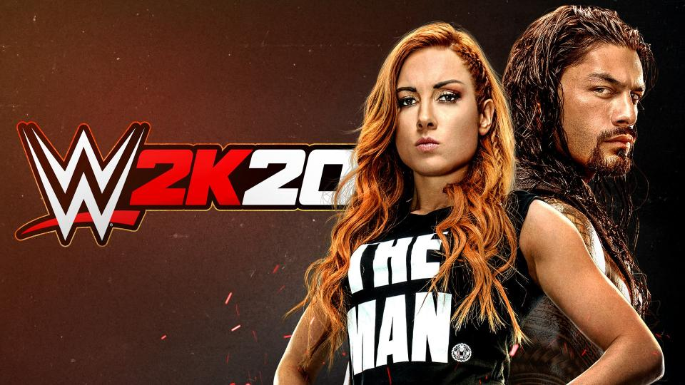 WWE2K20 Cover Reigns Lynch