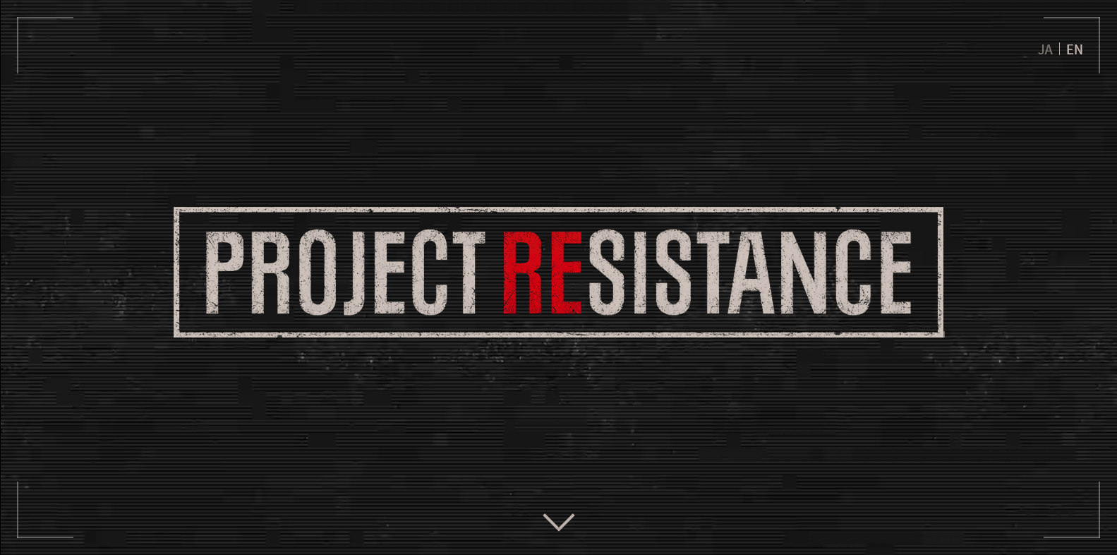 Project Resistance Site