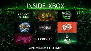 Inside Xbox September 2019