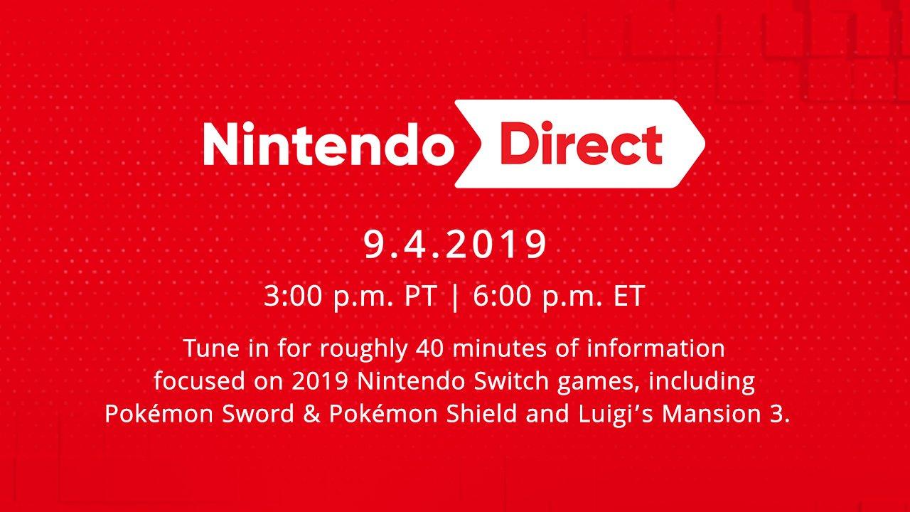 September 4th Nintendo Direct