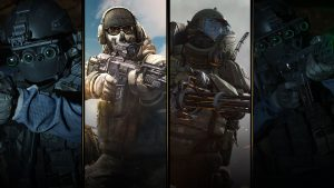 Modern Warfare Collage