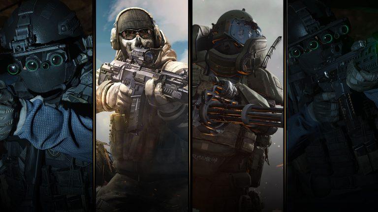 Modern Warfare Collage