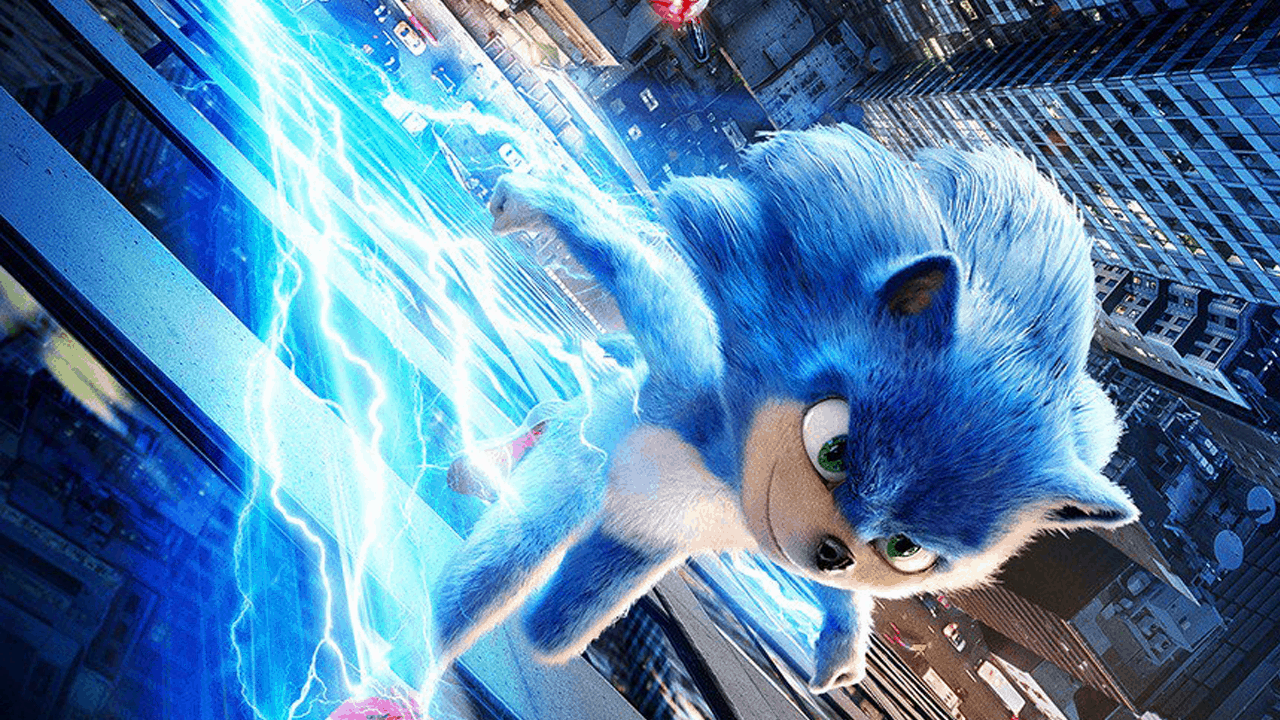 Electric Sonic the Hedgehog
