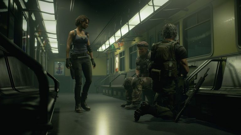 RE3 Remake Subway