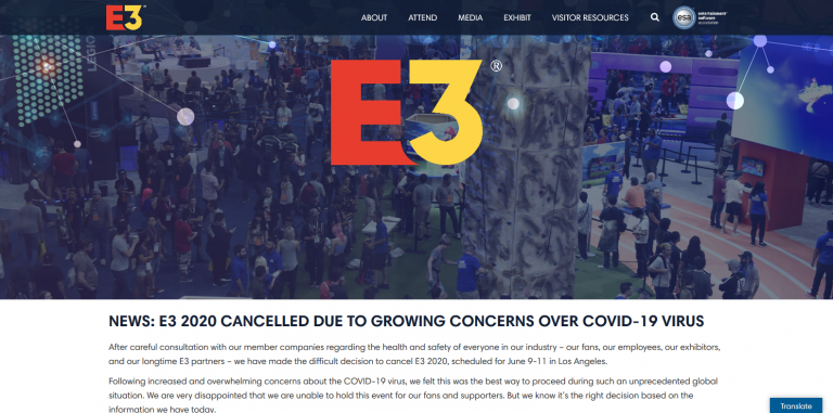 E32020 Canceled Website