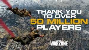 Call of Duty Warzone 50 Million Players Logged