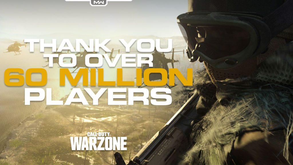 CODWZ 60 Million Players