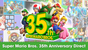 Super Mario Bros 35th Anniversary Direct