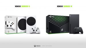 Xbox Series S and X Retail Boxes