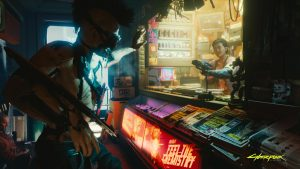 Cyberpunk 2077 Robbery