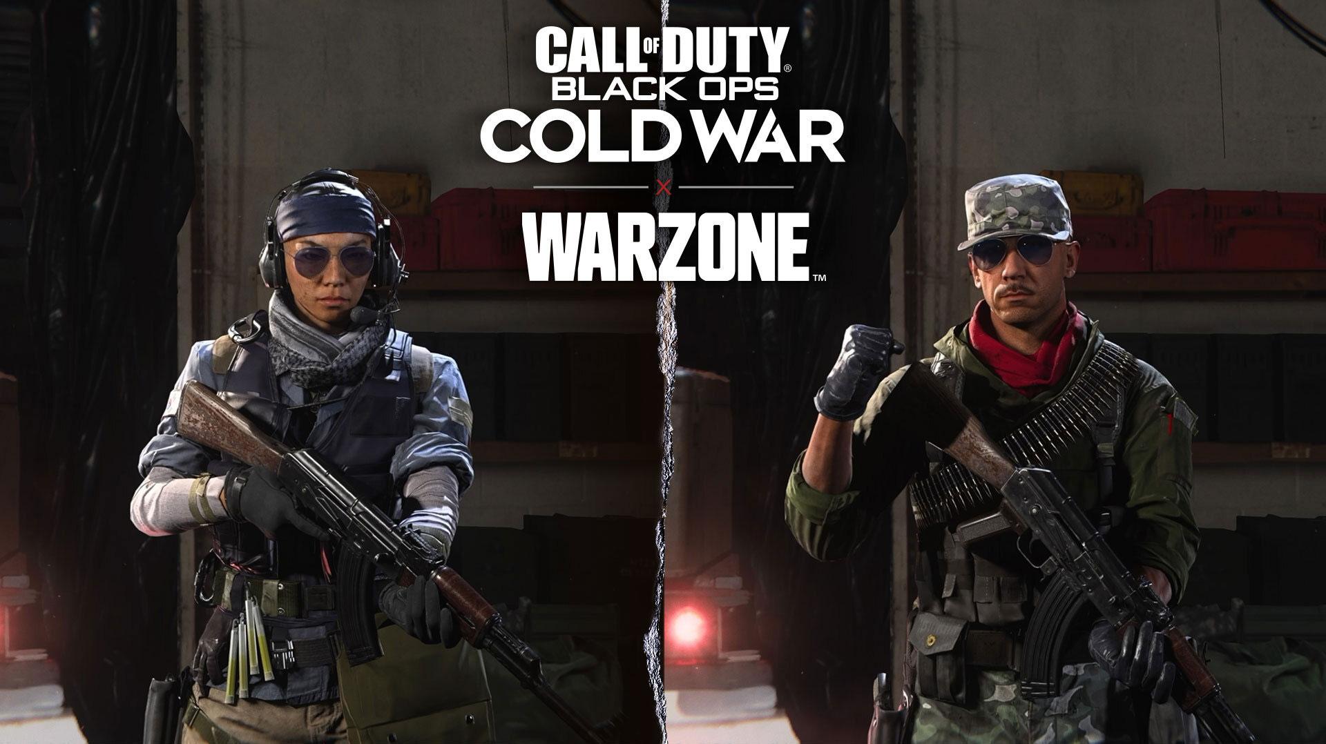CODMW and CODBOCW into Warzone