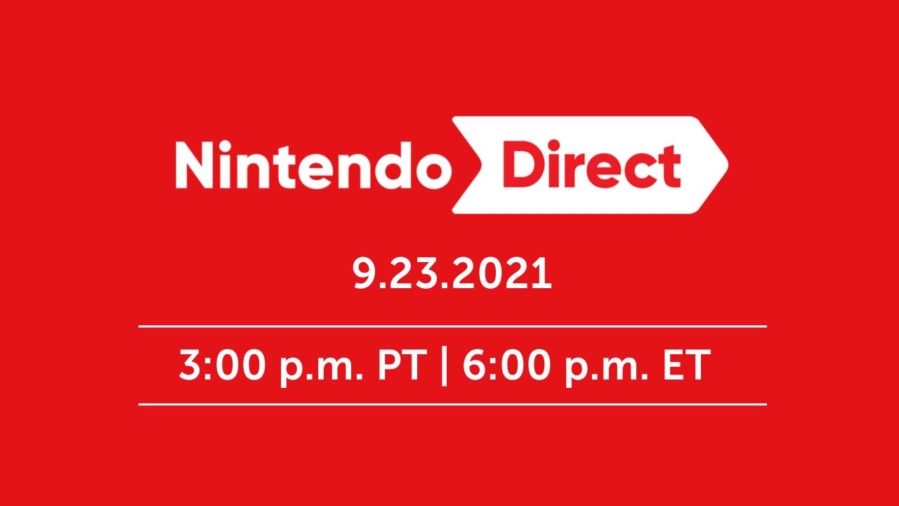 Nintendo Direct Sep 23rd 2021