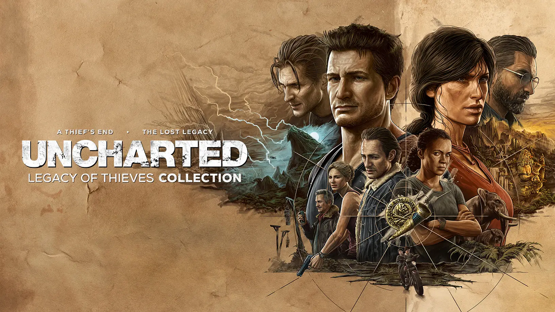 Uncharted Thieves Collection
